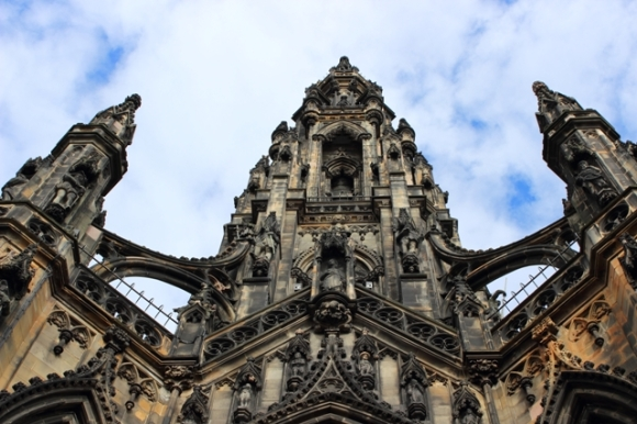 Scott Monument Detail