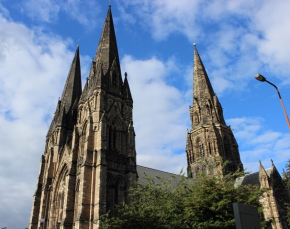 St. Mary's Cathedral - the flagship Episcopal church in Edinburgh