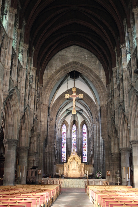 Inside St. Mary's Cathedral