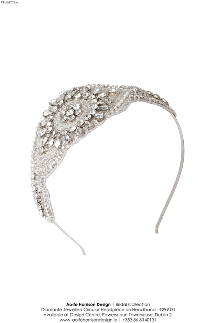 Diamante Jewelled Circular Headpiece