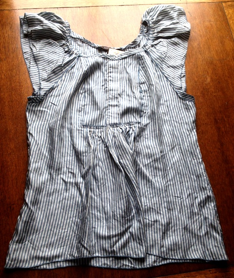 BCBG Maxazria Top - will look great with white jeans and my white leather jacket!