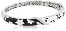 Sterling Silver & Diamond Bangle