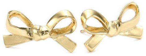 Kate Spade Gold Tone Stud Earrings