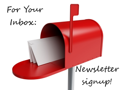 The Weekend Roundup: Newsletter Signup