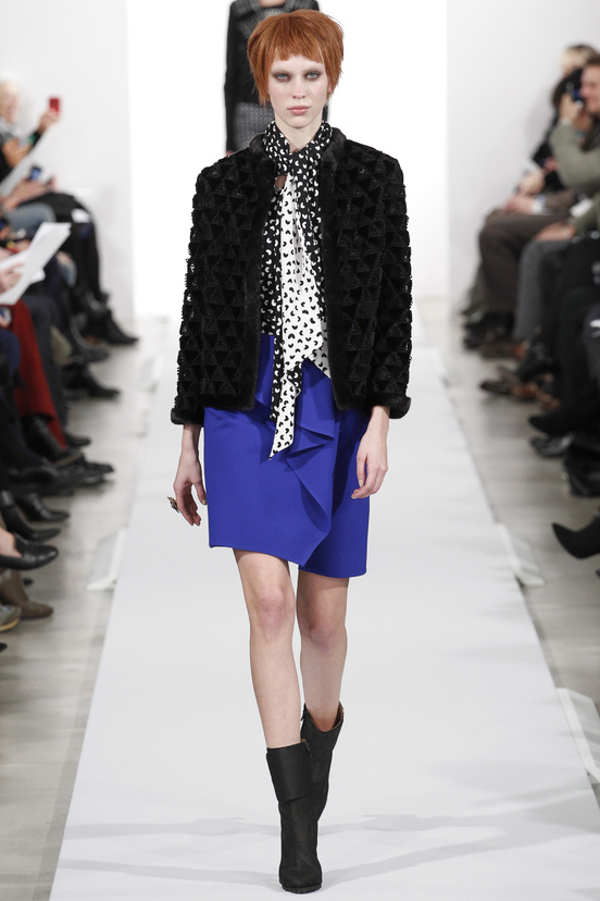 Oscar de la Renta AW14 - Color & Pattern