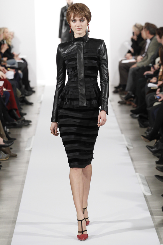 Oscar de la Renta AW14 - Leather