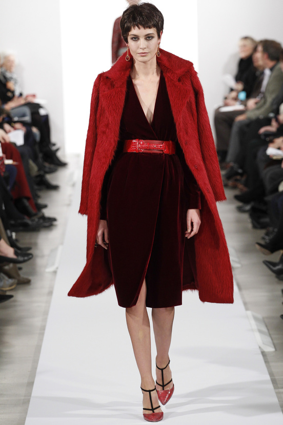 Oscar de la Renta AW14 - Shades of Red