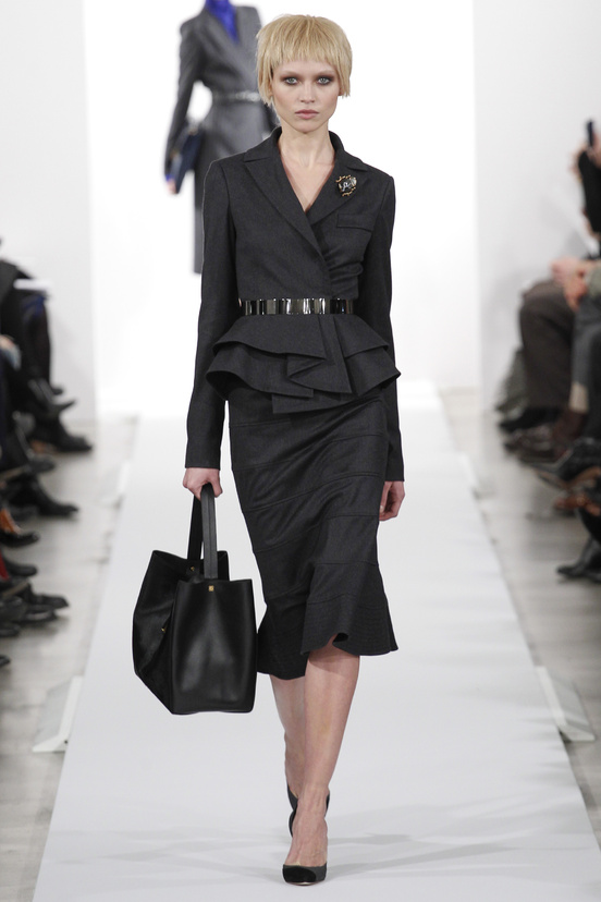 Oscar de la Renta AW14 - Suiting Up