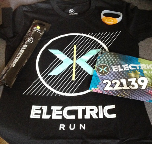 Electric Run Goody Bag
