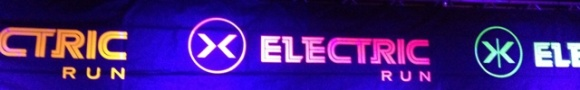 Electric Run Photo Wall