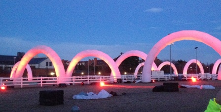 Electric Run Race Course - Arches