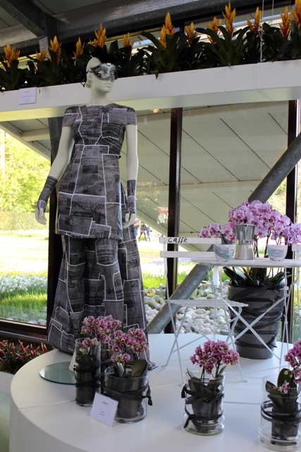 Masquerade Fashion + Orchid Display