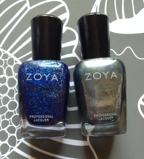 Zoya Nail Polish: Dream + Cassedy