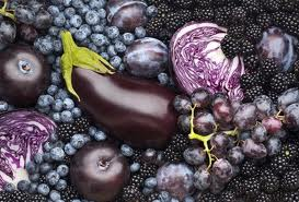 Blue & Purple Fruits & Veg