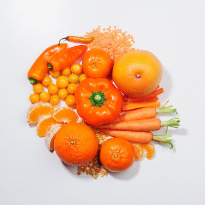 Orange Fruits & Veg