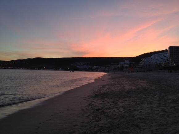 Sunset in Sesimbra