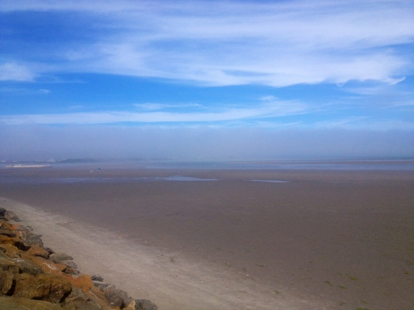 Fog on the Sandymount Strand