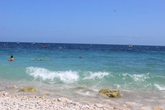 The cure for the blues -- the salty waters of the Mediterranean