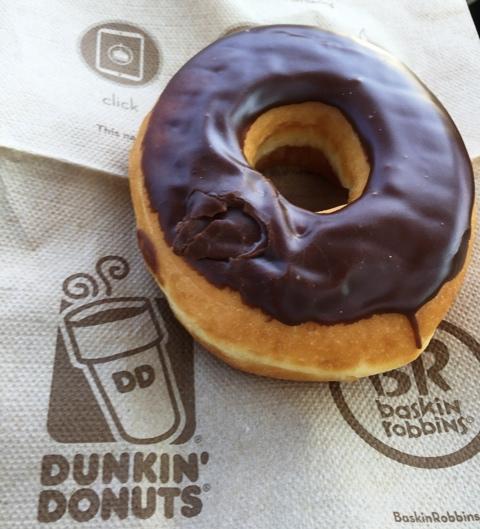 I won't lie. I did enjoy this donut!