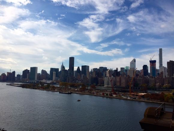 Manhattan Skyline via Queensboro Bridge