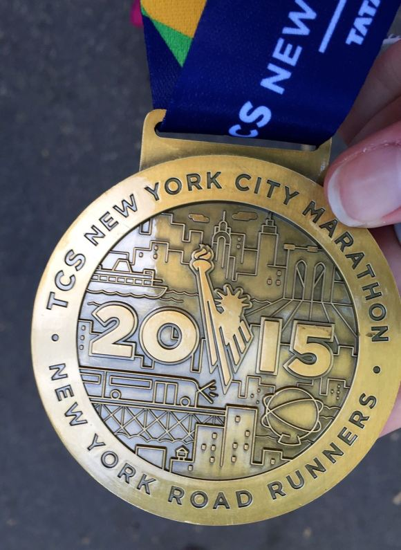 NYC Marathon Finisher's Medal