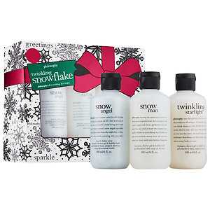 Snowflake Bath Set